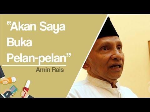 Sebut Akan Penuhi Panggilan Polisi, Amin Rais Ancam Ungkap Korupsi Lama yang Mengendap di KPK