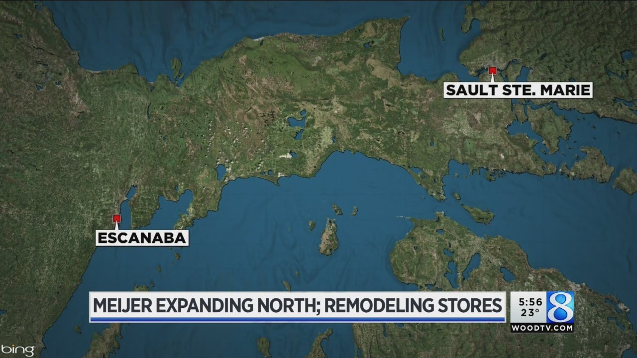 Meijer Expanding Into Up Remodels Planned For 2 W Mi Stores Youtube