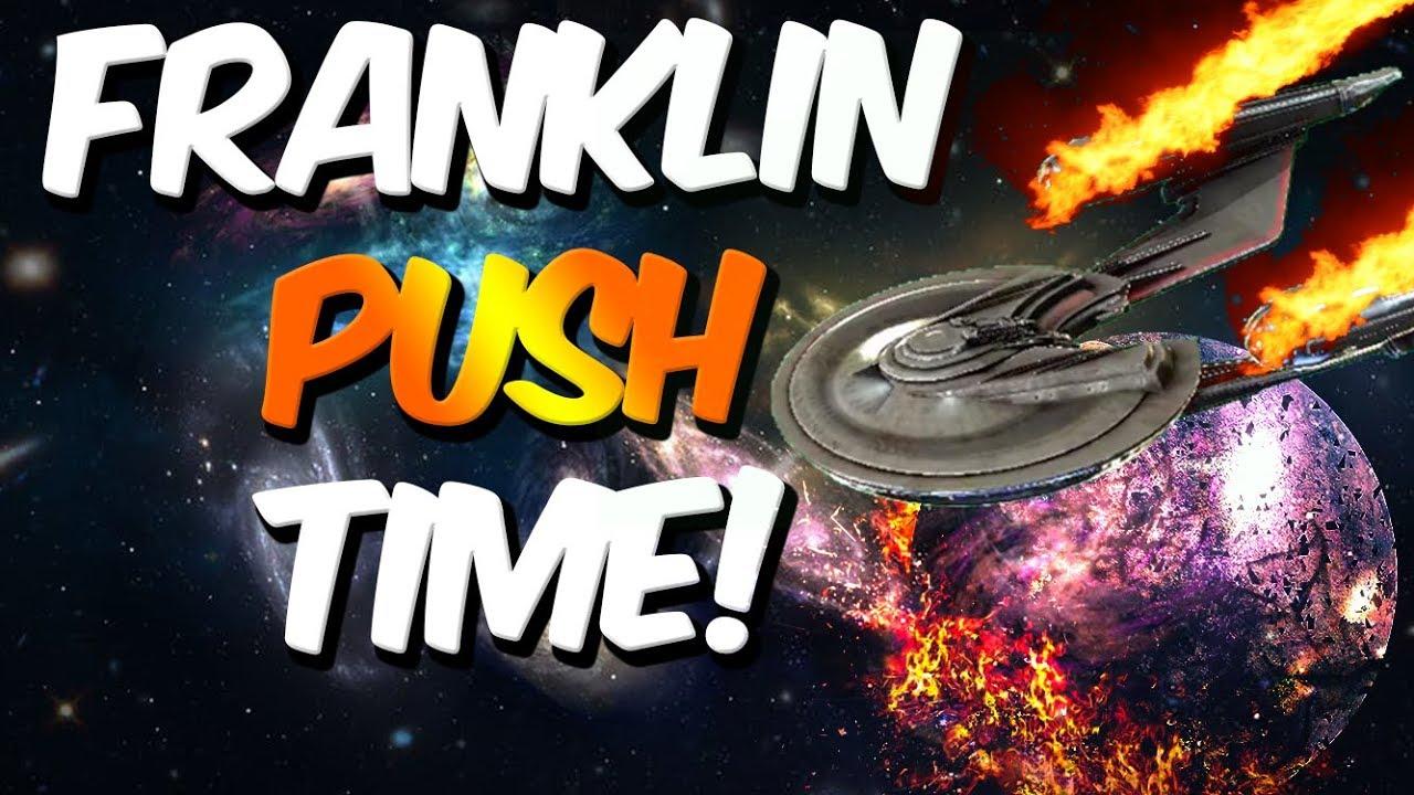 PUSHING the FRANKLIN in Star Trek Fleet Command!