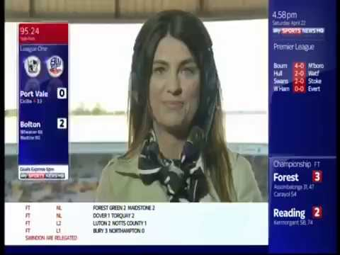 Jeff Stelling's Passionate Message To Hartlepool United Soccer 2017