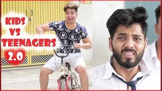 KIDS vs TEENAGERS 2.0 || JaiPuru