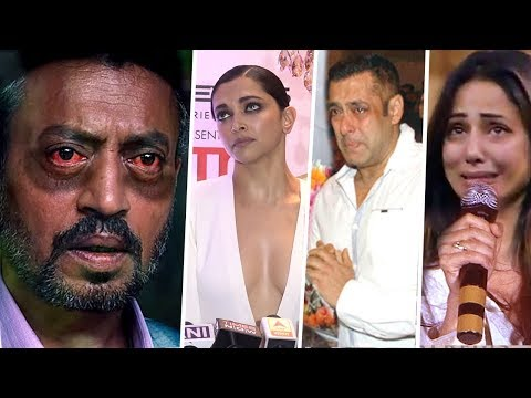 All Bollywood Celebs Emotional Reply On Ir Khan's SHOCKING Condition