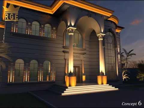 Exterior lighting design 3 facade lighting design dubai youtube