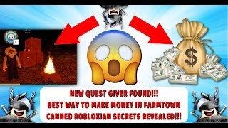 *UPDATE* ROBLOX WELCOME TO FARMTOWN 💰NEW QUEST LOCATION💰