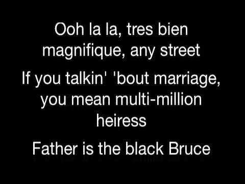 Kanye West - Black Bruce Wayne feat Drake Type Beat (Lyrics)