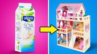 27 COOLE DIY BARBIE-MÖBEL IDEEN