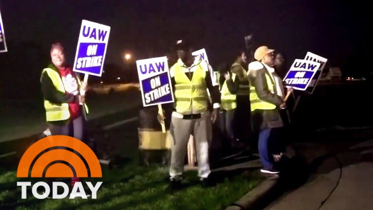 More than 10000 John Deere workers go on strike after failing to ...
