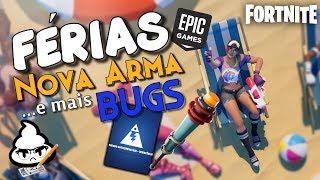 FORTNITE this BUG will DESTROY resistance mode! New weapon and EPIC on vacation!