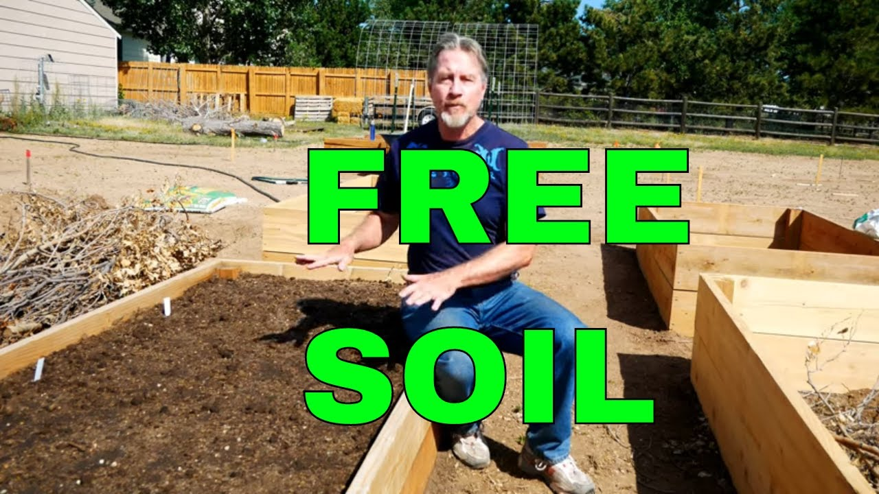 How To Fill A Raised Bed And Save Money Youtube