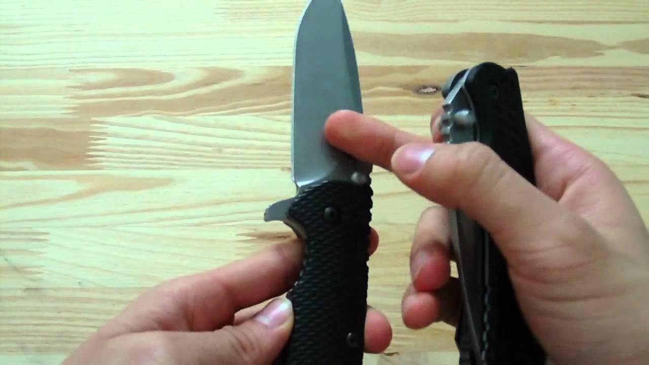 Knife Comparison: Zero Tolerance 560 & 550