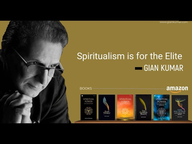 Spiritualism is for the Elite