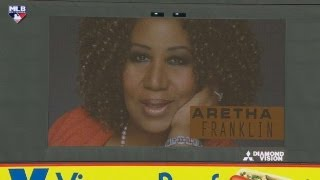 TEX@CWS: Aretha Franklin honored at Civil Rights Game