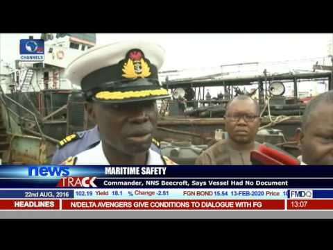 Maritime Safety: Navy Hands Over Arrested Vessel To NIMASA