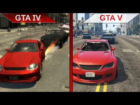 THE BIG GTA COMPARISON 3 | GTA IV vs. GTA V | PC | ULTRA