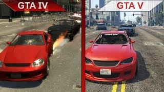 THE BIG GTA COMPARISON 3 | GTA IV vs. GTA V | PC | ULTRA