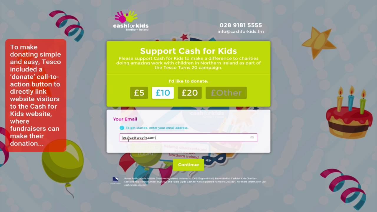 How Tesco Drives Charitable Donations With Sponsored Campaign Hub