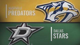 Даллас vs Нэшвилл | Nashville Predators at Dallas Stars | NHL HIGHLIGHTS | НХЛ ОБЗОР МАТЧА