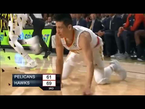 Jeremy Lin First Points Back From Injury