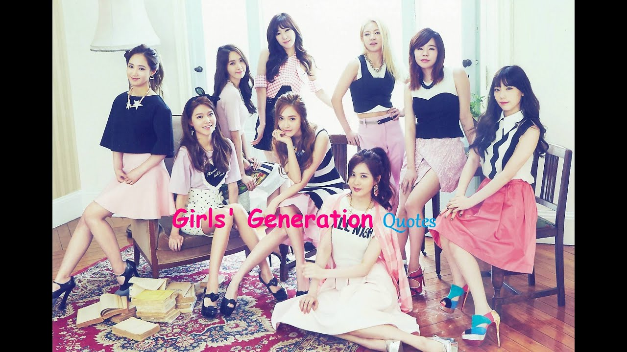 Sone snsd quotes o -  Kpop Quotes Part 3 Girls Generation Snsd Quotes