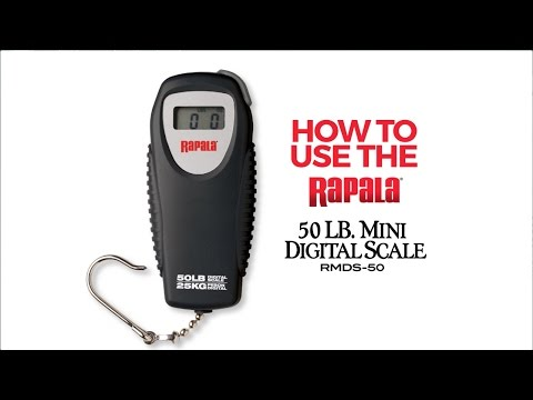 Rapala® RMDS 50 Scale Instructions