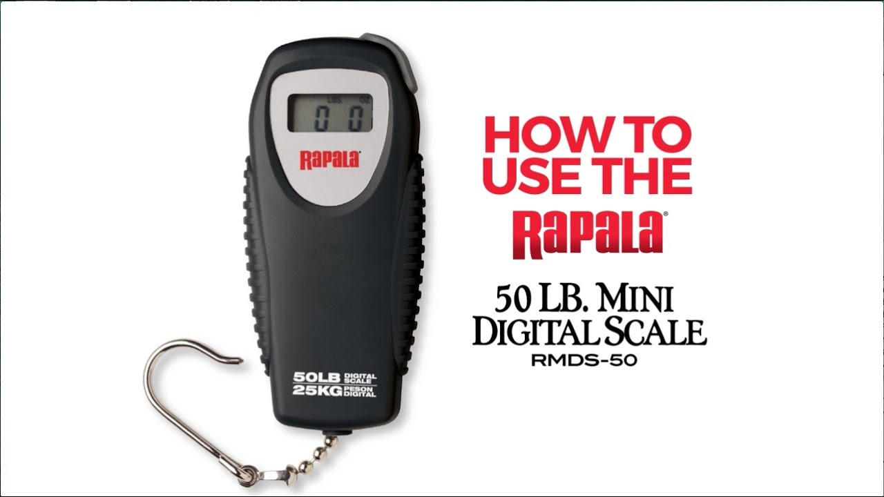 Rapala RMDS 50 Scale Instructions