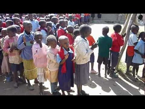 Welcome Song at Oloonkerin Primary School