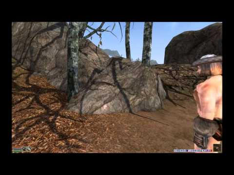 Morrowind MGE XE Quick Video Tour W/ Commentary (Insane Morrowind Graphics) 2