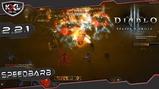 Diablo 3 RoS 2.2.1 - Speed Farm Barb v2 [Wirbelwind] ➥ Let's Guide