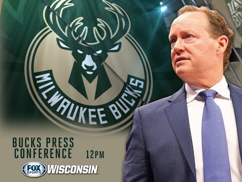 LIVE: Milwaukee Bucks Press Conference Introducing Head Coach Mike Budenholzer