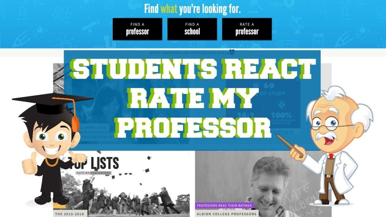 rank my professor college