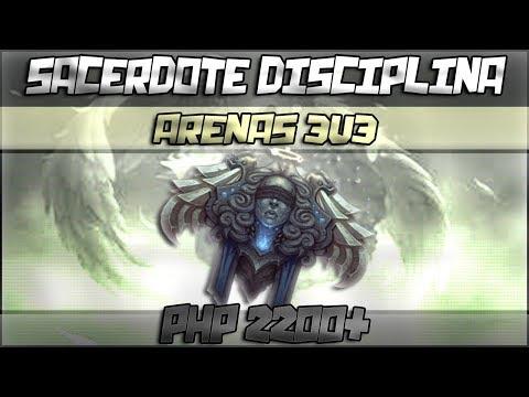 WoW | Sacerdote Disciplina | Arenas 3v3 PHP con Espartacus & Dakry 2200+