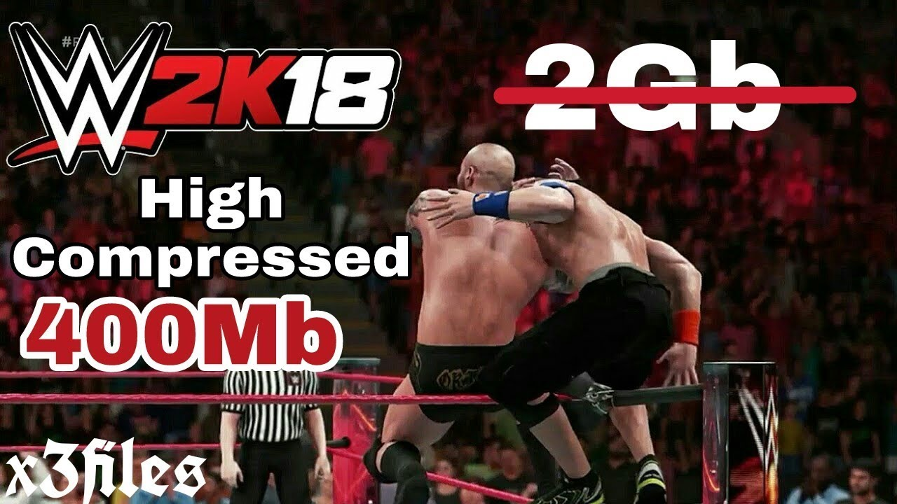 400Mb High Compressed || WWE 2K18 DOWNLOAD ON ANDROID || PPSSPP MOD DATA  PROOF WITH GAMEPLAY