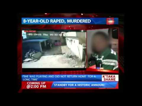 Minor allegedly raped and murdered in Bangalore