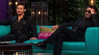 KWK: Tiger Shroff will not take sex advice from dad Jackie Shroff