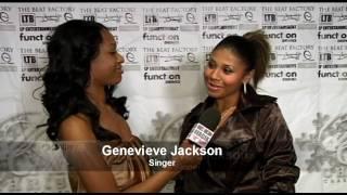Genevieve Jackson White Carpet Interview at White Carpet Christmas Charity Fundraiser (2009)