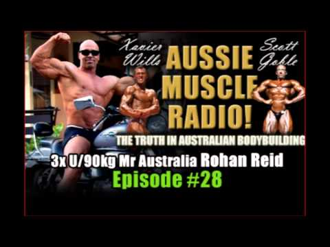 Rx Muscle Australia: Rohan Reid's Aussie Muscle Radio Interview- www.RxMuscle.com.au