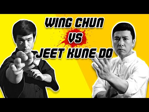 Wing Chun vs  Jeet Kune Do