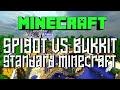 Bukkit vs Spigot vs Standard Minecraft Servers