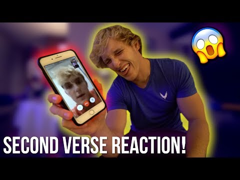 JAKE REACTS TO OUR SECOND VERSE PERFORMANCE! pissed