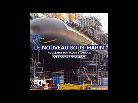 Le nouveau sous-marin nucléaire d'attaque français Suffren sera mis à l'eau ce vendredi
