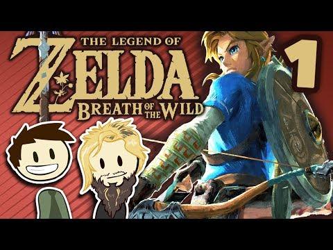 Legend of Zelda: Breath of the Wild - #1 - With Level Artist Josh Foreman!