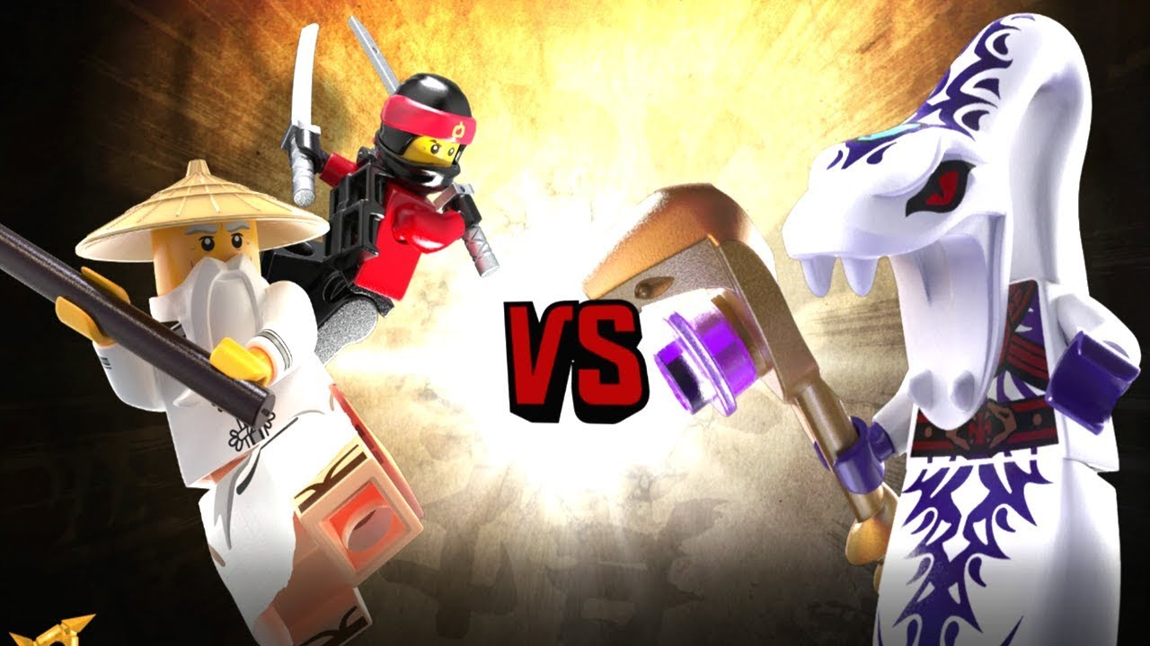 The LEGO Ninjago Movie Video Game - Ninja Kai and Sensai ...