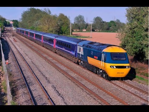 CLASS 43 HST W43002 SIR KENNETH GRANGE AT NORTON FITZWARREN: 14th May 2016