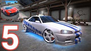 Ultimate Car Driving Simulator - Nissan Skyline gtr r34 do velozes e furiosos: modificações screenshot 5