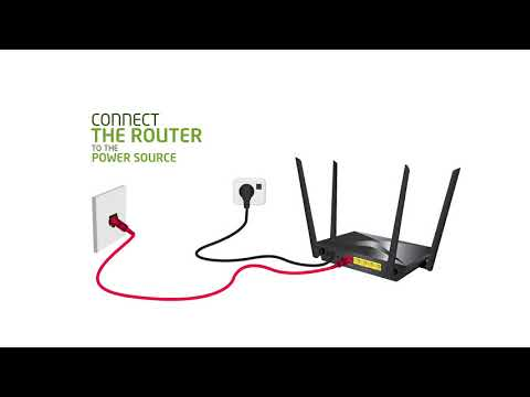 Etisalat D-Link DIR-853 AC1300 MU-MIMO Wi-Fi Gigabit Router Installation Video (English)