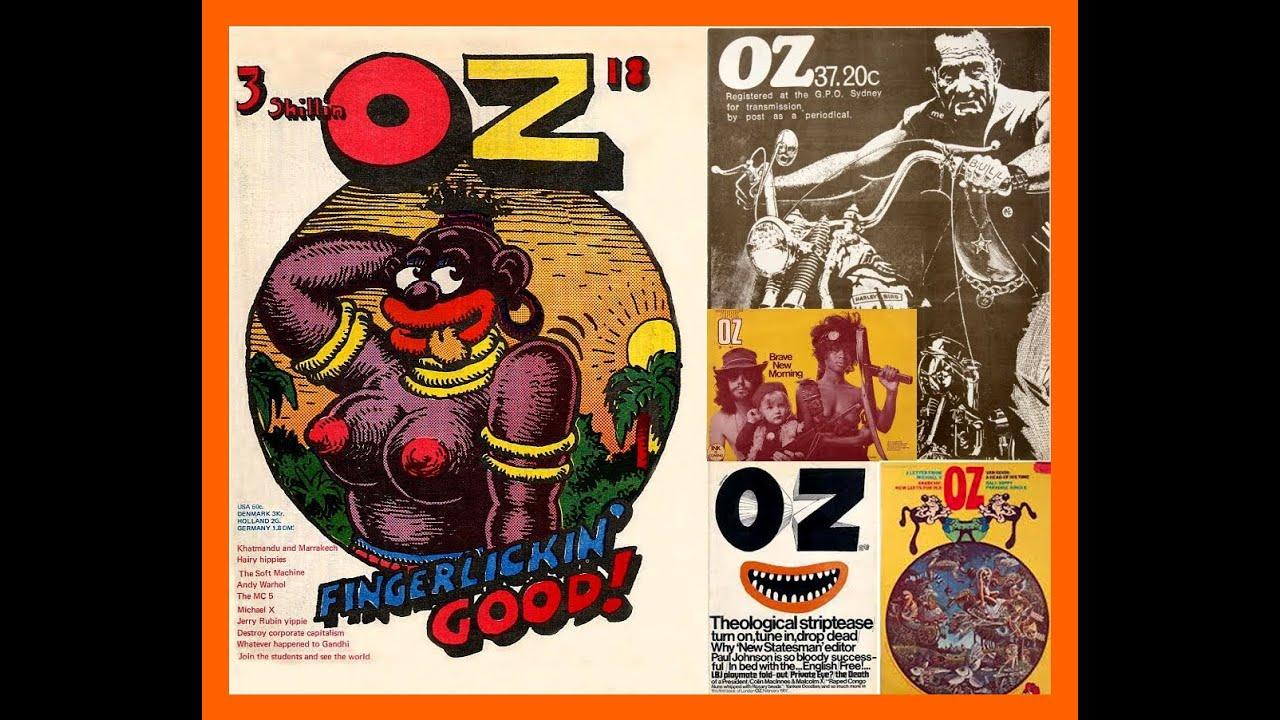 Oz Magazine Schoolkids Issue