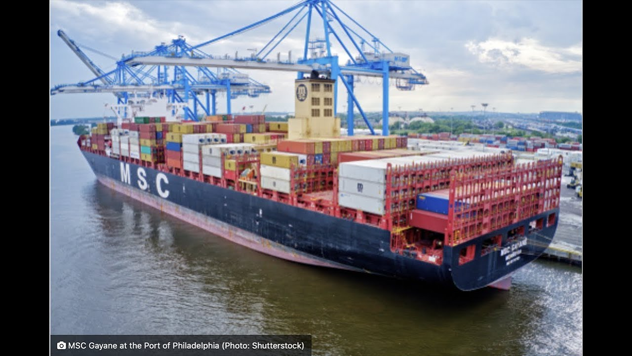 Philadelphia Port sees second drug bust on container ship