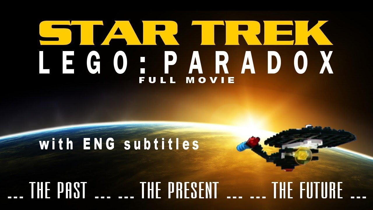 STAR TREK LEGO - PARADOX (celý film) | ENG subtitles