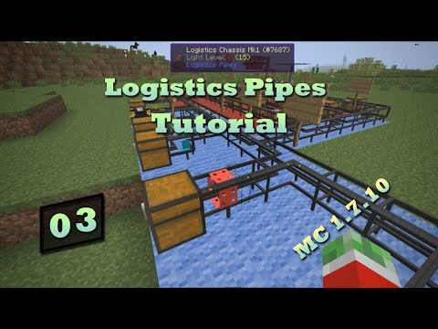 Logistics Pipes Tutorial - #3 - Remote Requesting & Supplying