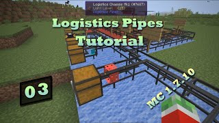 Logistics Pipes Tutorial - #3 - Remote Requesting & Supplying thumbnail